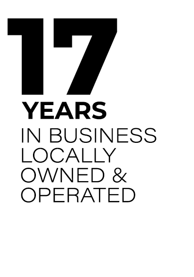 17 Years In Business