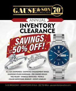 Jewelry Clearance Ad