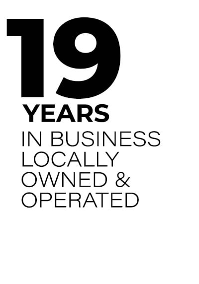 19 Years in Business
