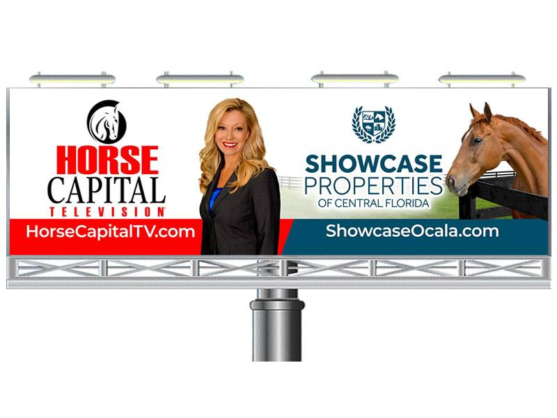 Horse Billboard