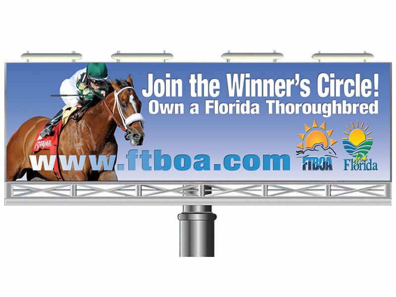 Equestrian Billboard